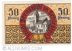 50 Pfennig ND - Bernstadt in Schlesien
