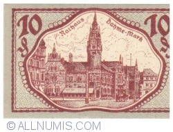Image #2 of 10 Pfennig 1920 - Dahme/Mark