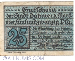 Image #1 of 25  Pfennig 1920 - Dahme/Mark