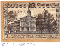 Image #2 of 50 Pfennig 1920 - Dahme/Mark