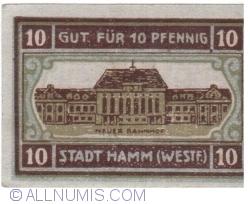 Image #1 of 10 Pfennig 1920 - Hamm