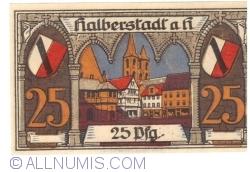 Imaginea #1 a 25 Pfennig 1920 - Halberstadt