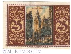 Image #2 of 25 Pfennig 1921 - Hanover