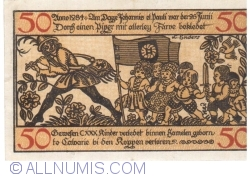 Image #2 of 50 Pfennig 1918 - Hameln