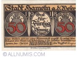 Image #1 of 50 Pfennig 1918 - Hameln