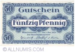 Image #1 of 50 Pfennig 1919 - Hanover