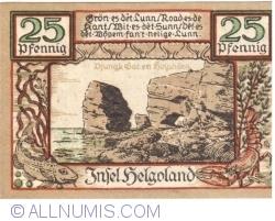 Image #1 of 25 Pfennig 1921 - Helgoland