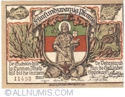 Image #2 of 25 Pfennig 1921 - Helgoland