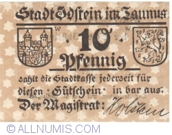 Image #1 of 10 Pfennig ND - Idstein