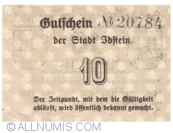 Image #2 of 10 Pfennig ND - Idstein
