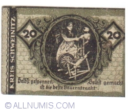 Image #1 of 20 Pfennig 1920 - Herzberg