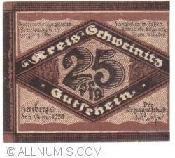 Image #2 of 25 Pfennig 1920 - Herzberg