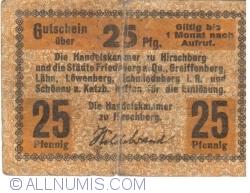 25 Pfennig ND - Hirschberg
