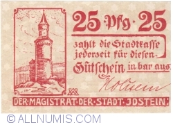 Image #2 of 25 Pfennig ND - Idstein