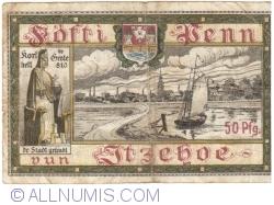 Image #2 of 50 Pfennig 1918 - Itzehoe