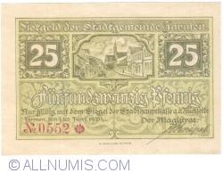 Image #1 of 25 Pfennig 1920 - Jarmen