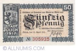 Image #1 of 50 Pfennig 1917 - Jülich