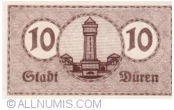 Image #2 of 10 Pfennig 1919 - Düren