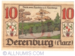 Image #2 of 10 Pfennig 1919 - Derenburg