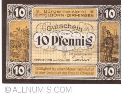 Image #1 of 10 Pfennig 1921 - Eppelborn