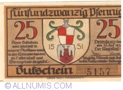 Image #1 of 25 Pfennig 1919 - Derenburg