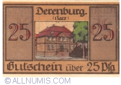 Image #2 of 25 Pfennig 1919 - Derenburg