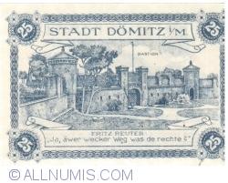 Image #2 of 25 Pfennig 1920 - Dömitz