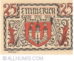 Imaginea #2 a 25 Pfennig 1920 - Emmerich