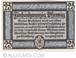 Image #2 of 25 Pfennig 1920 - Erfurt