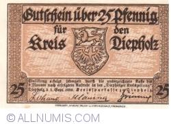 Image #1 of 25 Pfennig 1920 - Diepholz