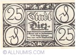 Image #1 of 25 Pfennig 1921 - Diez