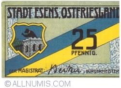 Image #1 of 25 Pfennig ND - Esens