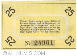 Image #2 of 25 Pfennig ND - Esens