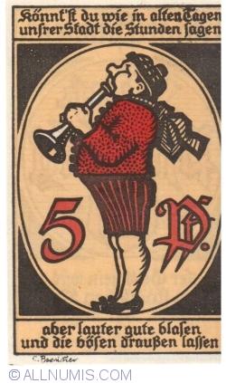 Image #2 of 5 Pfennig 1920 - Eschwege