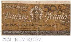 Image #1 of 50 Pfennig 1917 - Dresden