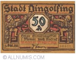 Imaginea #1 a 50 Pennig 1920 - Dingolfing