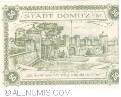 Image #2 of 50 Pfennig 1920 - Dömitz