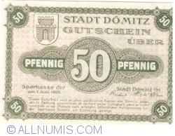 Image #1 of 50 Pfennig 1920 - Dömitz