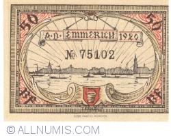 Imaginea #2 a 50 Pfennig 1920 - Emmerich