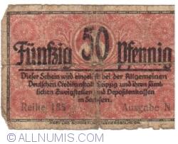 50 Pfennig 1920 - Dresden