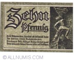 Image #2 of 10 Pfennig 1920 - Goslar