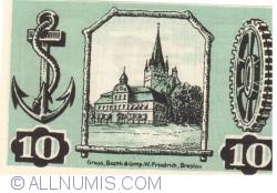 10 Pfennig 1921 - Gollnow