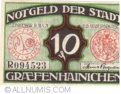 Imaginea #1 a 10 Pfennig 1921 - Gräfenhainichen