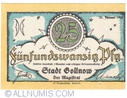 Image #1 of 25 Pfennige 1921 - Gollnow
