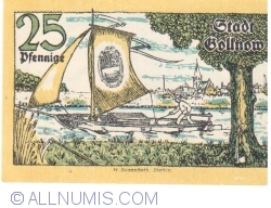 Image #2 of 25 Pfennige 1921 - Gollnow