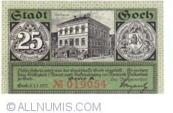 Image #1 of 25 Pfennig 1921 - Goch