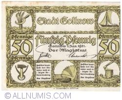 Image #1 of 50 Pfennige 1921 - Gollnow