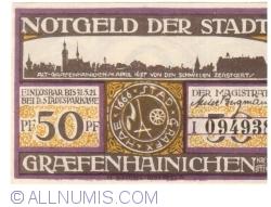 50 Pfennig 1921 - Gräfenhainichen