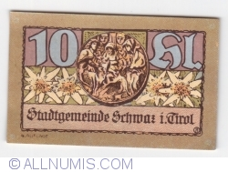 Imaginea #1 a 10 Heller 1921 (4. Auflage) - Schwaz