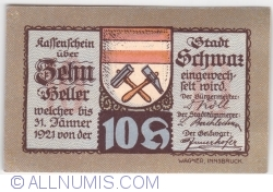 Imaginea #2 a 10 Heller 1921 (4. Auflage) - Schwaz